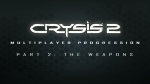 Multiplayer progression: Part 2: Weapons | Crysis 2 Videos