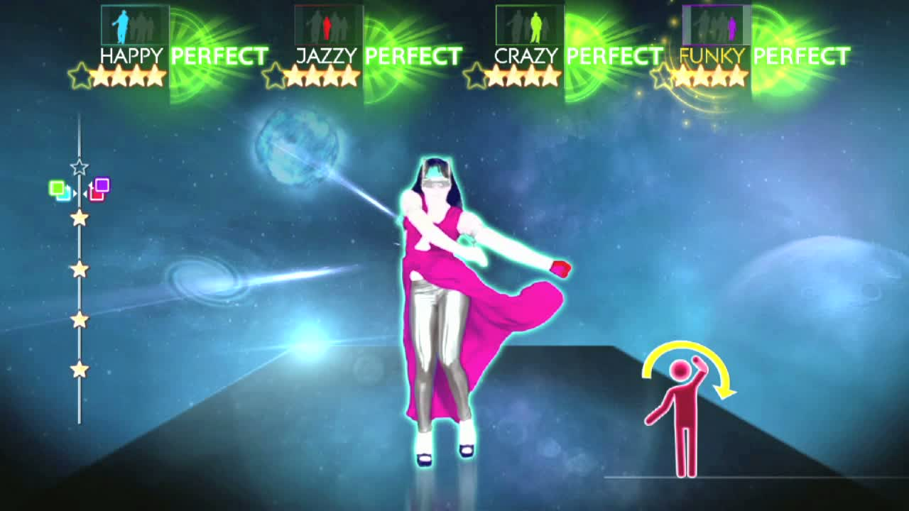 just dance how to record video