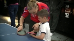 B-Roll Footage Featuring the Table Tennis Event | Kinect Sports Videos