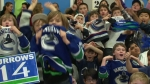 Bring Burrows to School Day - B-roll | NHL 12 Videos