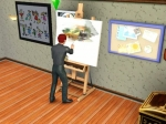 Mastering the Painting Skill allows your Sim to earn... | The Sims 3: Late Night Videos