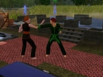 The Sims 3: Late Night Sparing is the quickest way to Master Sim Fu