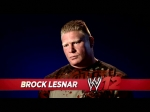 WWE 12 A video interview with Brock Lesnar